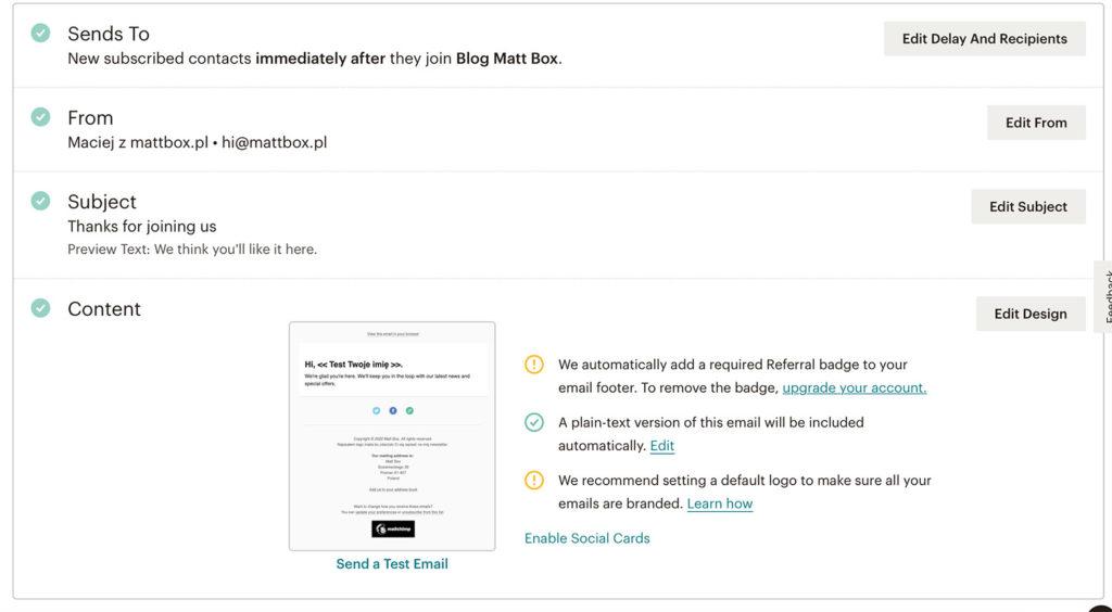 Jak stworzyćlistę mailingową