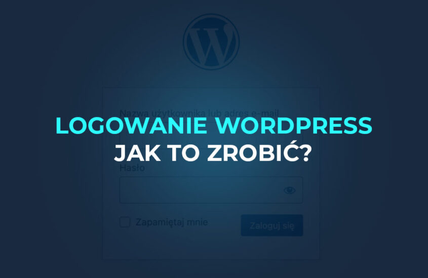 WordPress zaloguj się do panelu administracyjnego