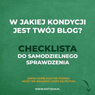 Checklista dla bloga ✅  Niezależnie czy dopiero zaczynasz czy blogujesz już jakiś czas.  #stronywww #checklist #twojblog #blogowanie #blogerka #bloger #biznesonline #rozwojosobisty #lista #wordpress #twojalista